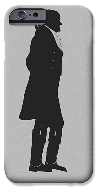 Politician iPhone Cases - The Jefferson iPhone Case by War Is Hell Store