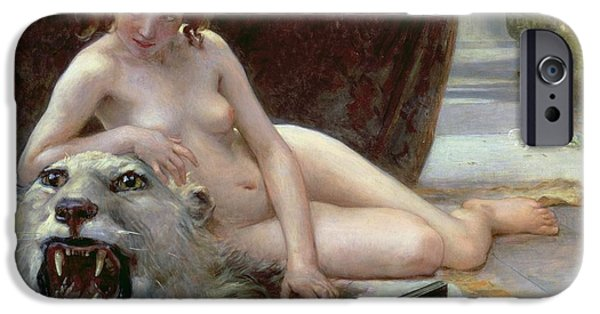Female Body iPhone Cases - The Jewel Case iPhone Case by Guillaume Seignac