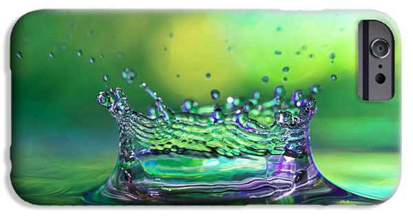 Rain iPhone Cases - The Kings Crown iPhone Case by Darren Fisher