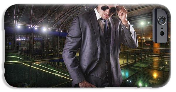 Business Photographs iPhone Cases - The Kingsman iPhone Case by Yhun Suarez