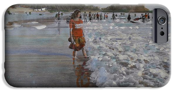 Thinking iPhone Cases - The Konkan Beach iPhone Case by Vikram Singh