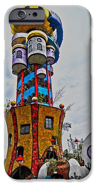 Friedensreich iPhone Cases - The Kuchlbauer Tower iPhone Case by Juergen Weiss