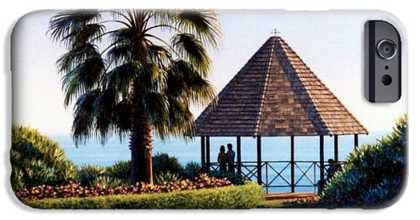 Heisler Park iPhone Cases - The Laguna Gazebo iPhone Case by Frank Dalton