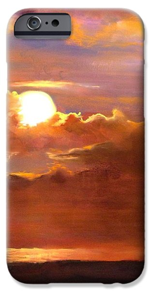 Ocean Sunset Pastels iPhone Cases - The Last Cast iPhone Case by Jack Skinner