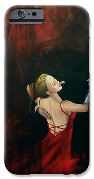 The last dance iPhone Case by Dorina  Costras
