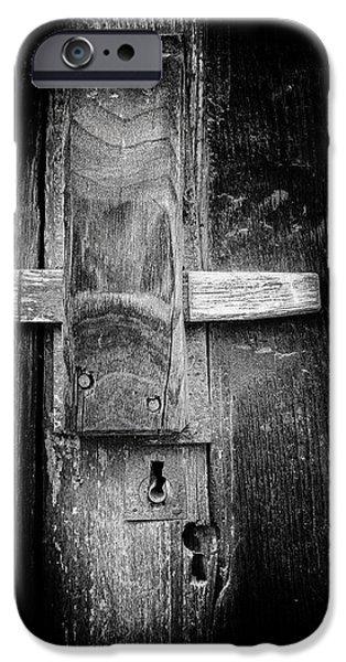 Edgar Laureano Photographs iPhone Cases - The Last Door iPhone Case by Edgar Laureano
