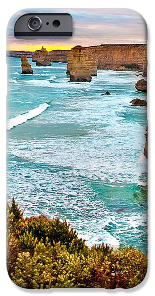 Panoramic Ocean iPhone Cases - The Last Wave iPhone Case by Az Jackson