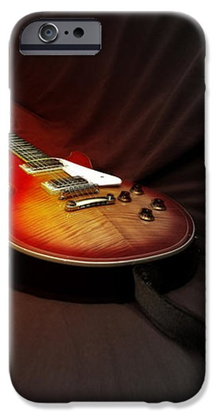 The Les Paul iPhone Case by Steven  Digman