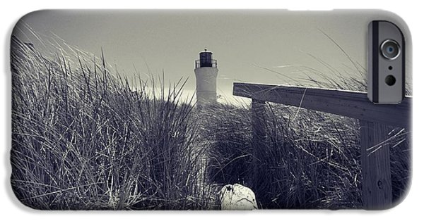 Lighthouse iPhone Cases - The Light that Beckons iPhone Case by Belinda Olivastri