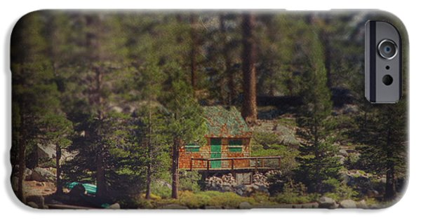 Cabin iPhone Cases - The Little Cabin iPhone Case by Laurie Search