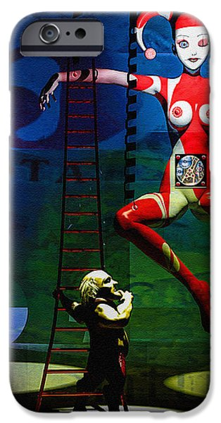 The Little Puppet Master iPhone Case by Bob Orsillo