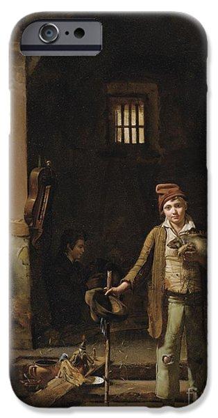Groundhog iPhone Cases - The Little Savoyards Bedroom Or The Little Groundhog Shower iPhone Case by Jean-claude Bonnefond