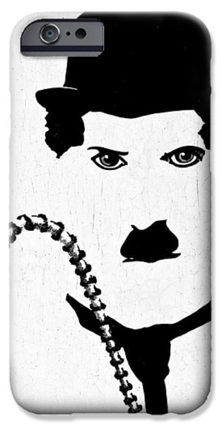 The Little Tramp iPhone Cases - The Little Tramp iPhone Case by Tamara Gregory