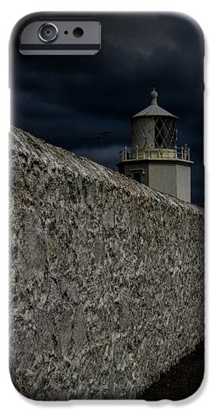 Beach iPhone Cases - The Lizard Lighthouse iPhone Case by Martin Newman