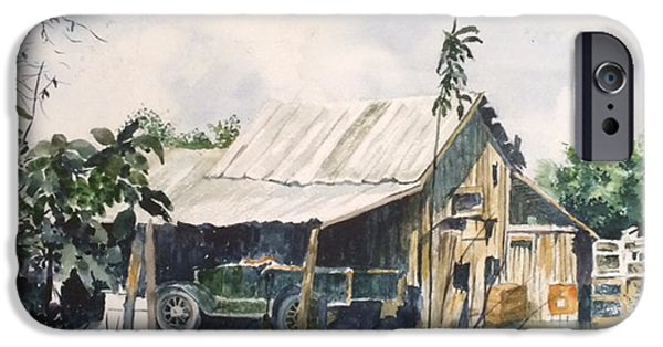 Recently Sold -  - Old Barns iPhone Cases - The Lock Barn iPhone Case by Glen Ward