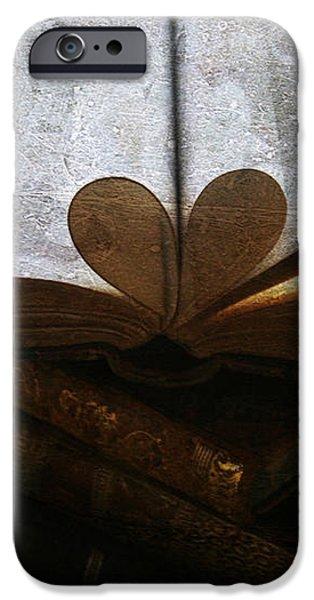 The Love of a Book iPhone Case by Georgia Fowler