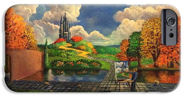Autumn iPhone Cases - The Love of Color iPhone Case by Randy Burns