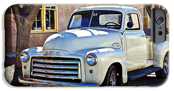 Barbara Chichester Digital iPhone Cases - The Magic of the 1949 GMC 100 iPhone Case by Barbara Chichester