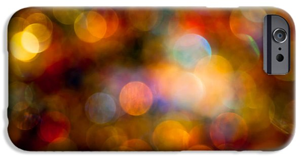 Contemporary Abstract iPhone Cases - The Magic of Your Touch iPhone Case by Jan Bickerton