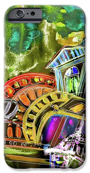 The Magical Rooftops of Prague 02 iPhone Case by Miki De Goodaboom