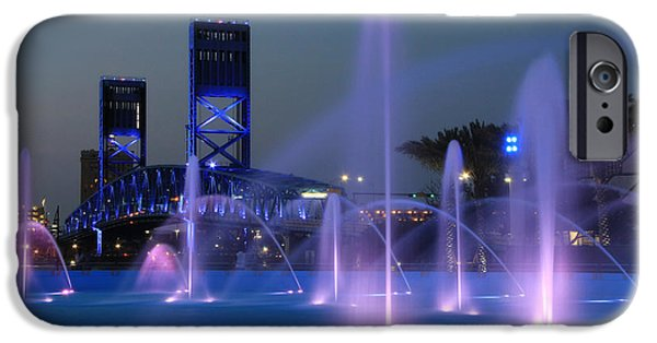 The Main iPhone Cases - The Main Street Bridge iPhone Case by Lori Deiter
