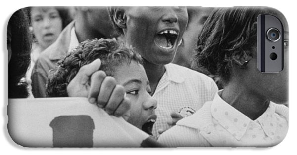Unrest iPhone Cases - The March on Washington   A Group from Detroit iPhone Case by Nat Herz