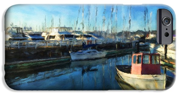 Sausalito iPhone Cases - The Marina iPhone Case by Jonathan Nguyen