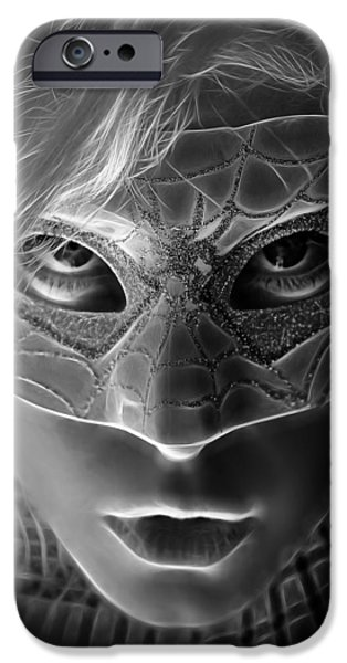 Dc Universe iPhone Cases - The Mask Of The Spider Woman iPhone Case by Jon Volden