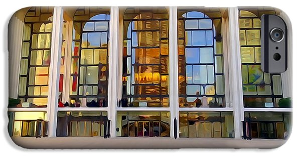 House iPhone Cases - The Metropolitan Opera House iPhone Case by Ed Weidman