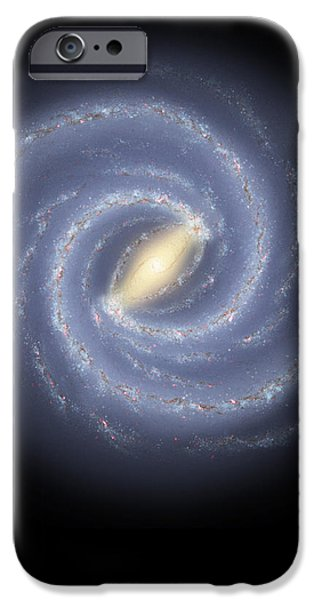 The Milky Way Galaxy iPhone Case by Stocktrek Images