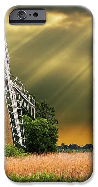 the mill on the marsh iPhone Case by Meirion Matthias