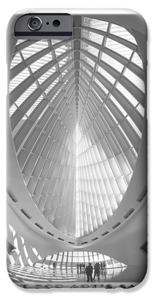 The Milwaukee Art Museum iPhone Case by Mike McGlothlen