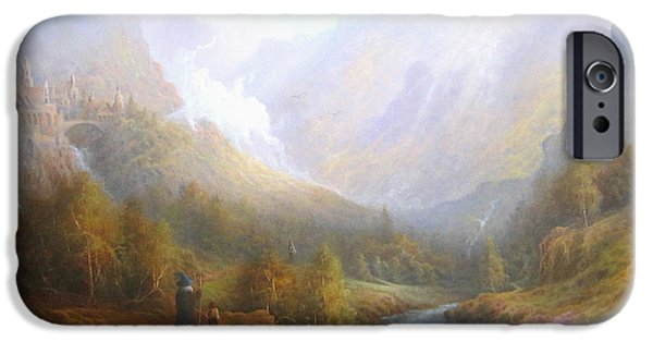 Misty iPhone Cases - The Misty Mountains iPhone Case by Joe  Gilronan