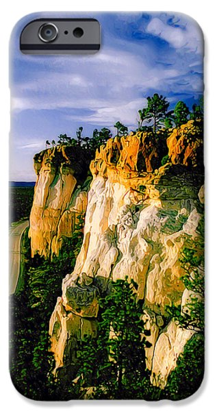 Earth Tones Photographs iPhone Cases - The Narrows iPhone Case by Bill Caldwell -        ABeautifulSky Photography