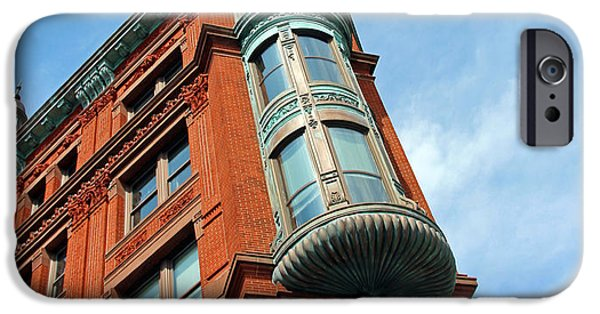 D.c. iPhone Cases - The National Savings And Trust Building iPhone Case by Cora Wandel
