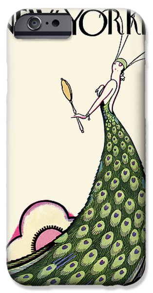 Irvin iPhone Cases - The New Yorker Cover - April 3rd, 1926 iPhone Case by Conde Nast