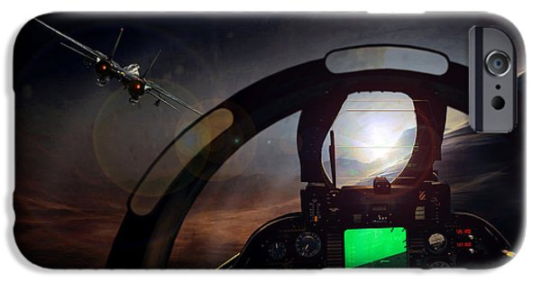 Iraq iPhone Cases - The Office iPhone Case by Peter Van Stigt