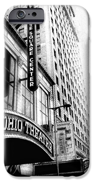 Cleveland iPhone Cases - The Ohio And State Theatres iPhone Case by Kenneth Krolikowski