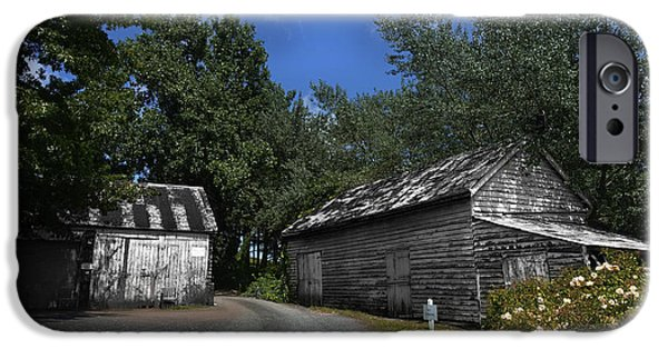 The White House Photographs iPhone Cases - The Old Barn iPhone Case by Raymond Philip