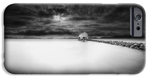 Sheds iPhone Cases - The Old Boat Shed iPhone Case by Erik Brede