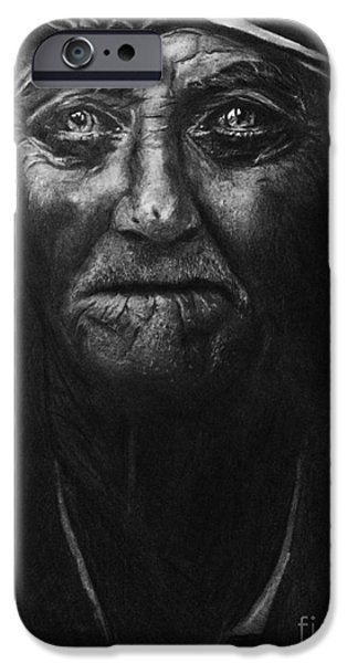 Hyperrealistic iPhone Cases - The old fisherman and the Sea iPhone Case by Isabellas Artstudio