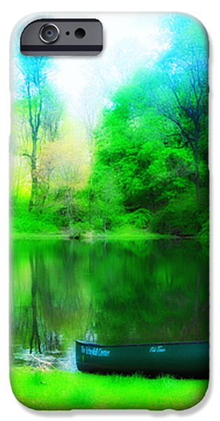 The Old Fishin Hole iPhone Case by Bill Cannon