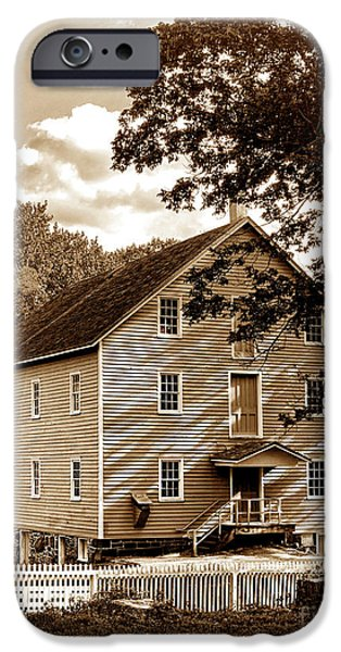 Old Mills iPhone Cases - The Old Gristmill  iPhone Case by Olivier Le Queinec