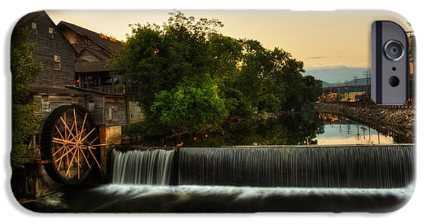 Morning iPhone Cases - The Old Mill iPhone Case by Greg Mimbs