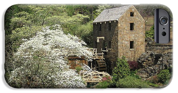 Grist Mill iPhone Cases - The Old Mill iPhone Case by Regina Strehl