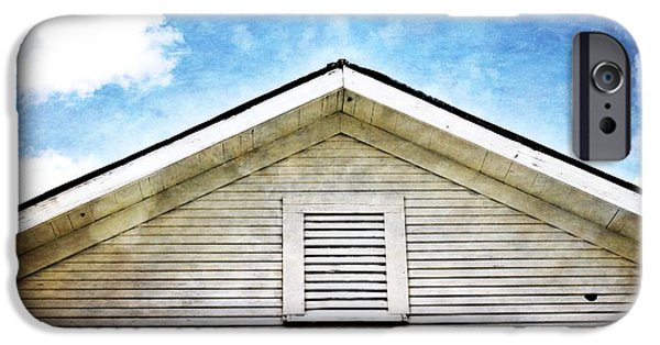 Rust iPhone Cases - The Old School House II iPhone Case by Gary Richards