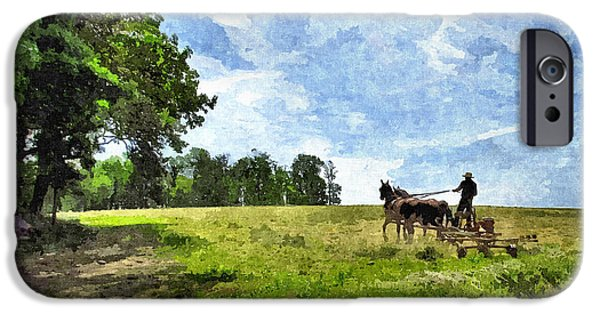 Amish Photographs iPhone Cases - The Old Ways iPhone Case by John Trommer