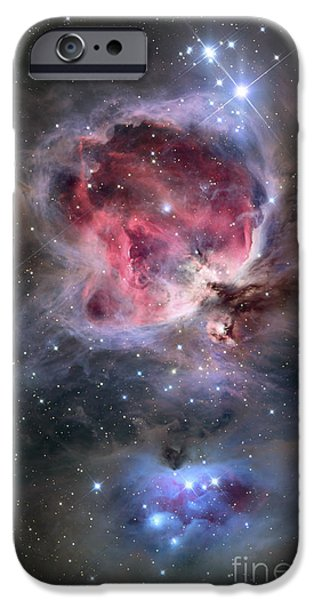 Constellations iPhone Cases - The Orion Nebula iPhone Case by Roth Ritter