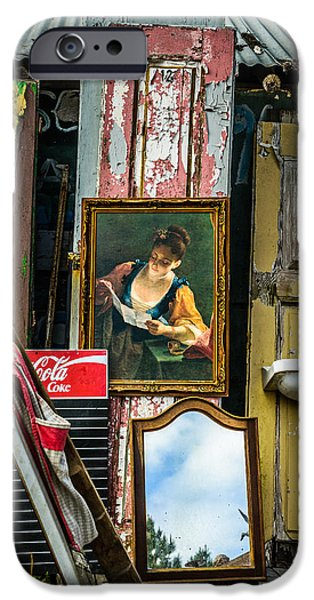 Painter Photographs iPhone Cases - The Painting iPhone Case by Marco Oliveira