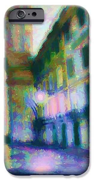 Impressionism Reliefs iPhone Cases - The Passage  iPhone Case by Daniel  Arrhakis